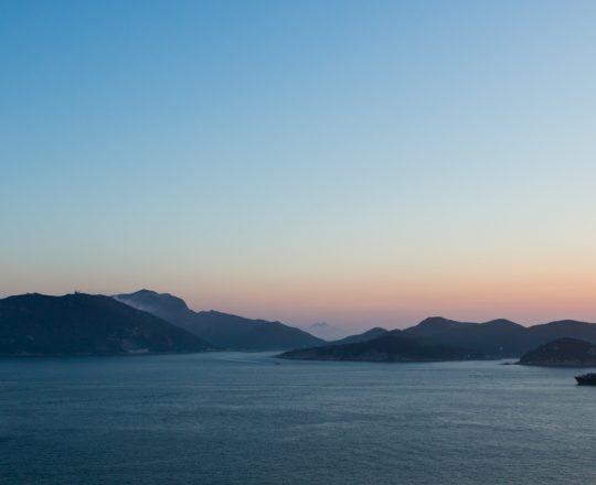 Hong Kong neighborhood, landscape, photography, Ap Lei Chau, Lamma Island, Sunset
